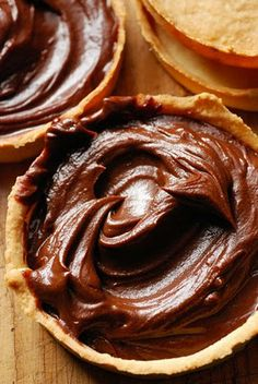 Chocolate mousse tarts. Through our expert social media marketing strategy take your brand/business to the top of success. For more info visit...... www.pinific.com