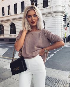 laurajadestone in our fave spring sweater ✨ link in bio to shop the Just For You backless sweater #lovelulus #lulusambassado