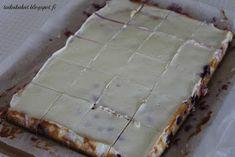Tarun Taikakakut: Marjainen juustokakkupiirakka Bread, Desserts, Food, Tailgate Desserts, Deserts, Brot, Essen, Postres, Baking