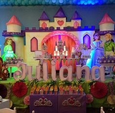 Sofia the First Birthday Party Ideas | Photo 3 of 7 | Catch My Party