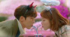 """Rumors have surfaced that Nam Joo-hyuk and Lee Sung-kyung might be dating, according to local media reports Monday. """"Nam Joo-hyuk and Lee Sung-kyung have been dating since they finished filming 'Weightlifting Fairy Kim Bok-joo,'"""" several reports said. Nam Joo Hyuk Weightlifting Fairy, Weighlifting Fairy Kim Bok Joo, Joon Hyung, Swag Couples, Kim Book, Korean Drama Best, Korean Dramas, Lee Sung Kyung, Drama Movies"""