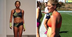"""Pro runner (and occasional sportswear model) Lauren Fleshman knows a thing or two about photoshop and spray-tans. Read on to learn why we should ignore the fitness models and love our """"thigh cheese.""""  http://greatist.com/happiness/pro-runner-body-image-media"""