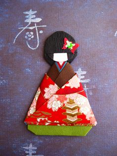 origami paper doll - find instructions to fold?