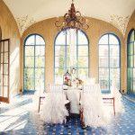 Oklahoma Wedding Inspiration: Bohemian Glamour  Table Rental by Party Pro Rents   Shoot location: Dresser Mansion   Tulsa, Oklahoma