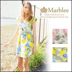 【Marblee / マーブリー】 フラワープリントタイトワンピース : 【2015年 最新】春夏ファッション 流行/トレンドは●● - NAVER まとめ