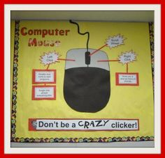 Computer lab bulletin board ideas be equipped remembrance day bulletin board ide. - Computer lab bulletin board ideas be equipped remembrance day bulletin board ideas be equipped fall - Computer Lab Posters, Computer Lab Decor, Elementary Computer Lab, Computer Lab Lessons, Computer Lab Classroom, Computer Literacy, Computer Teacher, Teaching Computers, School Computers