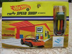 1968 Hot Wheels Redline Deora in it's original Speed Shop package - DEAD MINT! Price: $495.00