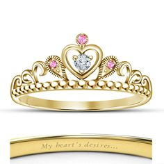 Hot Women's Fashion Disney Princess Aurora Style 18k Gold Plated Crown Ring  Description  After Purchase Kindly Give Us Contact No.  *Click here to View Our Other Products*  Item Specification  Style Crown Ring  Metal Silver 925  Main Stone Sha...