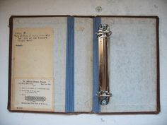 diy old book binder