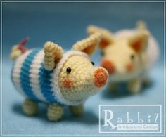 ... Pigs in a blanket (I couldn't resist)! ... | crochet amigur