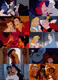 Disney Villains - don't get the meaning of personal space