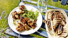 Spicy chicken kebabs
