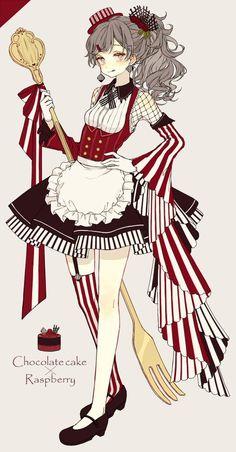 Anime Girl Food - Anime Girl Food - Anime and Manga - Anime Chibi, Gato Anime, Anime In, Fanarts Anime, Anime Characters, Manga Anime, Kawaii Anime Girl, Anime Art Girl, Anime Girls