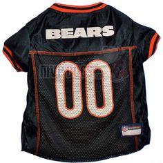 Chicago Bears Dog Jersey