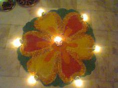 Rangoli! Diwali 2011