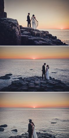 The Giant's Causeway, Ireland Engagement, image by This Modern Love