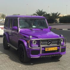 Purple Mercedes-Benz G63 AMG. #Mercedes #Cars #Rides #Auto #iAUTOHAUS