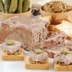 A pork-based country style pate flavored with piquant black pepper. Add cornichons and a little mustard for the perfect afternoon sandwich.
