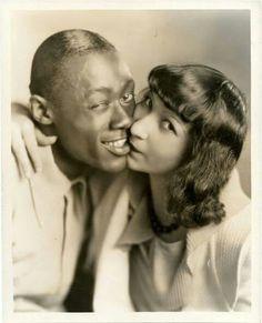 My wifes first black man