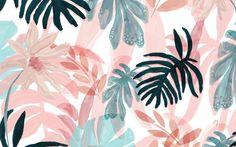 ♡@CloudyBabyy♡ Spring Desktop Wallpaper, Pc Desktop Wallpaper, Tropical Wallpaper, Macbook