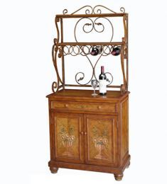 Zhongshan Topart Furniture Factory, Wine Rack with Cabinet, CHINA - GoodFactories