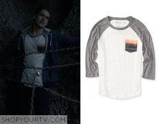 Teen Wolf: Season 5 episode 1 Liam's sunset pocket shirt