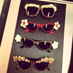 Cute and quirky sunglasses by A-Morir, snapped by Rachael Wang.