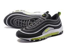 hot sale online 67a47 5a466 Nike Air Max 97 JAPAN OG Black Dark Grey Neon Green 921626 403 Cheap Nike  Air