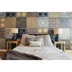 Diverse ceramics wall in bedroom, yay or nay? #rumahkubedroom