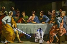 Star Wars Combined With Classic Paintings | The Mary Sue