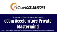 This eCom Accelerators Private Mastermind Replays Course is great for Ecommerce Courses. Learn what you need to before you make money online. Make Money Online, How To Make Money, Instagram Influencer, Replay, Fun Learning, Viral Videos, Digital Marketing, Presentation, Social Media