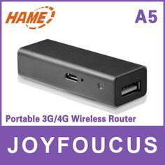 HAME A5 Mini Wireless 3G WiFi 150Mbps Router Mini AP Global Minimum 3G wifi - 16$