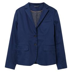 GANT Damen Satin Stretchblazer (34) Blau Jetzt bestellen unter: https://mode.ladendirekt.de/damen/bekleidung/blazer/sonstige-blazer/?uid=50c182c6-1cf0-5da1-ba04-0a183d38ccc4&utm_source=pinterest&utm_medium=pin&utm_campaign=boards #sonstigeblazer #blazer #bekleidung #women
