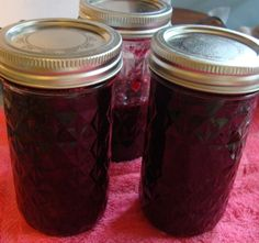 my blueberry jam done