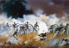 """Captain Sillery's Company RA at the battle of Talavera, 28th July 1809"", David Rowlands"