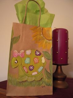 My Hand Painted Bags by Elvira Nell