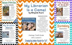 "This bundle contains all 5 stories for the  2014 1st Grade Journeys: Unit 1.There are a total of 40 student pages to be used as supplemental activities. If you are interested in just buying one story, they are located in my store. Each packet is outlined below.Buying this bundle will save you $1.00 verses buying each story individually. ""Because of Winn-Dixie"" by Katie DiCamillo - Unit 1 Lesson 1Vocabulary Definitions (1 page)Vocabulary Memory Match (1 page)Vocabulary Test (1 page)Classroom…"