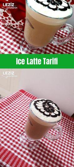 Ice Latte Tarifi Frappe, Latte, Food And Drink, Pudding, Punk, Drinks, Desserts, Drinking, Tailgate Desserts