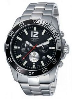 fecf54053b5b ESPRIT Male Calibre Watch ES104031005 Silver Analog Sale price.  84.95