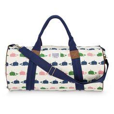 Sloane Ranger Whale Duffel   Tuckernuck   $70   Never enough duffel bags, never enough whales.