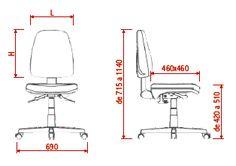 Resultado de imagem para ergonomia cadeira