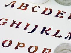 Typography by Sasha Prood