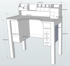 Jewelers Bench Sketchup plans