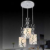 Moderno original 3 luzes pingente com pequeno... – BRL R$ 374,96