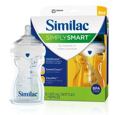 SimplySmart baby bottle, I so Love these.... I have always been a Playtex Nurser user until I found these... Now to find that cap...hmm??