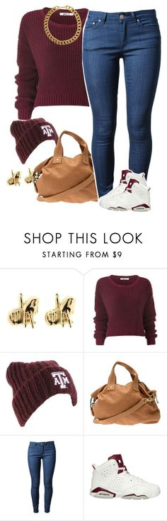 Untitled #1549 by lulu-foreva on Polyvore featuring Acne Studios, Clare V., Gogo Philip, Han Cholo, Forever 21, NIKE, women's clothing, women's fashion, women and female