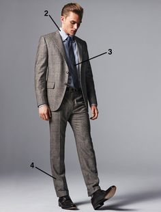 THE COMPLETE GUIDE TO SUITS: 57 RULES OF STYLE  EVERYTHING YOU NEED TO KNOW ABOUT SUITS, INCLUDING WHAT TO LOOK FOR WHEN BUYING THEM, HOW TO GET THEM TAILORED, AND THE COATS, SHIRTS, TIES, SHOES, AND WATCHES TO WEAR WITH THEM.