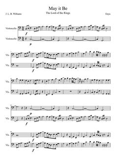 Image result for wild child enya sheet music cello