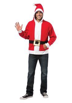 Teen Santa Costume Hoodie