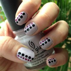 Another dotting tool manicure!